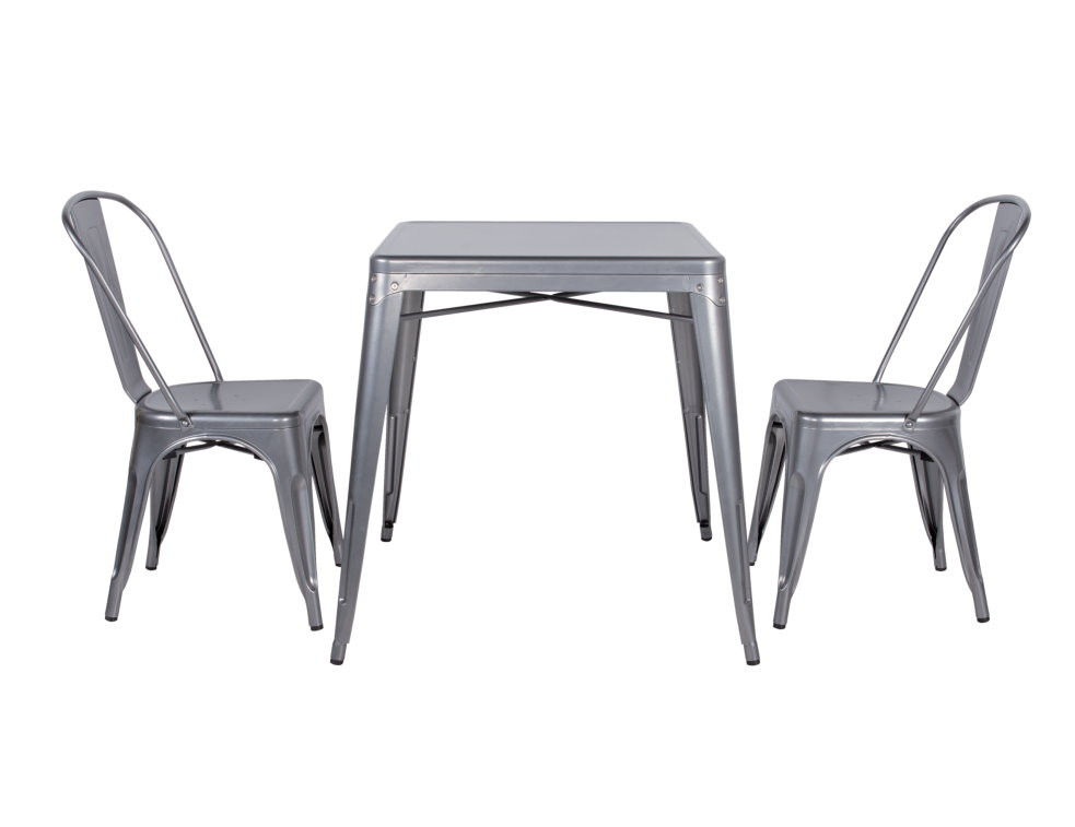 Dining Table Galvanized Steel Dining Table